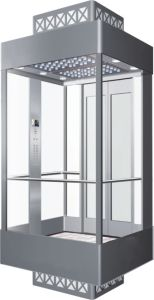 Shopping Mall Panoramic Elevator with Machine Room OEM Provided pictures & photos
