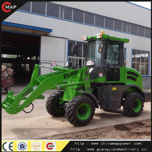 China Hydraulic 1ton Cheap Mini Wheel Loader Zl10 for Sale pictures & photos