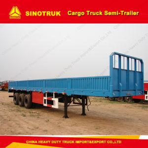 Tri-Axle Cargo Truck Semi-Trailer for Sale pictures & photos