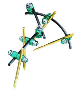 CE Approved Orthopedic Synthes Tibia External Fixator