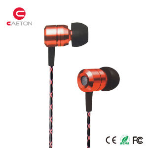 Noise Cancelling Headphones Metal Case Earphones with Wire pictures & photos