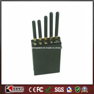 5 Antenna Portable WiFi GPS Cell Phone Jammer pictures & photos