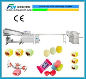 Candy Machinery Production Line for Center Filled Candy, Toffee, Hard Candy (F-140) pictures & photos