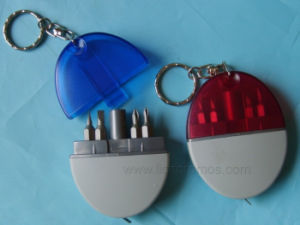 Mini Key Ring Promotional Gift Screw Driver Kit pictures & photos