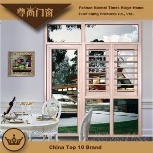 Aluminum Windows with Protection and Gauze for Exterior pictures & photos