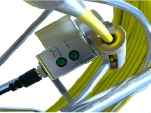 Pan / Tilt Inspection Camera for Pipelines with 50mm Camera Lens, 60m Testing Cable pictures & photos