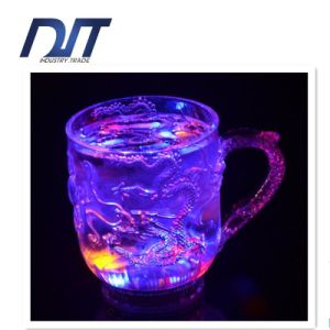 Flashing Light Cup LED Luminous Wine Glass for Bar