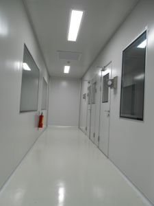 Injected PU Sandwich Panel for Cleanroom pictures & photos