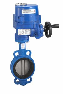 Electric Wafer Butterfly Valve for Actuator pictures & photos
