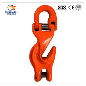 Painted Forged Steel Clevis Grab Hook with Half Ring pictures & photos