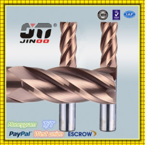CNC High Precision Tungsten Carbide Square End Mill Cutter pictures & photos