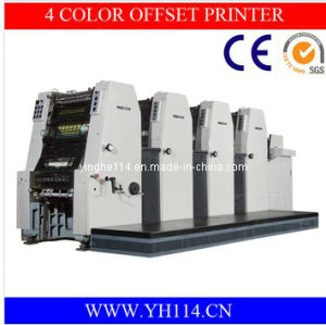Ultra-High Precision Yh-456II Four Color Offset Printing Machine pictures & photos