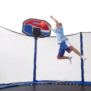 CE, TUV Safety Trampoline with Basketball Hoops pictures & photos