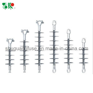 High Voltage Long Rod Suspension Composite Insulators Polymer Rubber pictures & photos