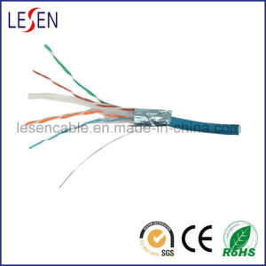 CAT6 FTP LAN Cable with 23AWG, Copper or CCA Conductor pictures & photos