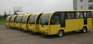 China, Small, Mini, Pasenger, 14-20 Seats, Electrical Shuttle Bus pictures & photos