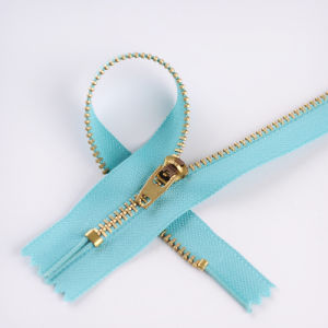 Hot Sale Brass Zipper with Discount pictures & photos