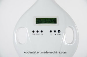 Portable Standing Type LED Teeth Whitening Machine with 8 Tubes for Teeth Bleaching pictures & photos