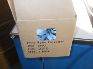 100% Polyester Sewing Thread pictures & photos