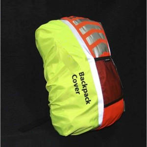 2016 Hot Sale Fluorescent High Visible Waterproof Cycling Safety 3m Reflective Backpack Cover pictures & photos