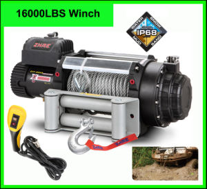Zhme 16000lbs Truck Winch with Wire Rope pictures & photos