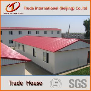 Sandwich Panel Mobile/Modular Building/Prefabricated/Prefab Living House pictures & photos