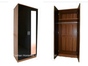 Ottawa 3PCS High Gloss Bedroom Mirrored Wardrobe Sets pictures & photos