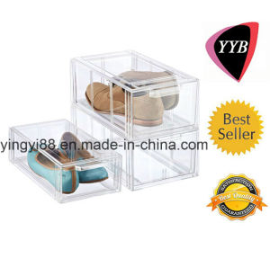 Best Selling Clear Acrylic Shoe Box for Women pictures & photos