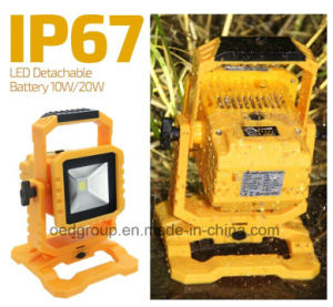 IP67 10W New Arrival Transformer LED Portable Flood Light pictures & photos