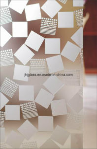 High Quality Inlaid Glass, Decorative Glass, Silk Screen Glass for Door pictures & photos