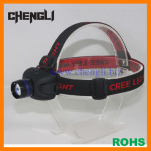 Aluminum CREE LED Zoom Adjustable Headlamp (LA1224A)