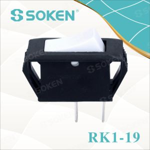 Soken 2 Pin Rocker Switch Rk1-19 1X1 pictures & photos