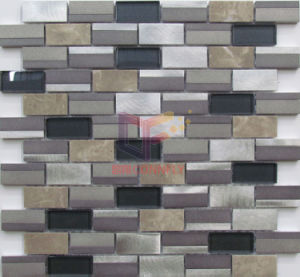Modern Design Aluminium Mixed Mosaic for Wall Decoration (CFA107) pictures & photos