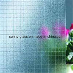 6mm 6.5mm Nashiji Patterned Wired Glass pictures & photos