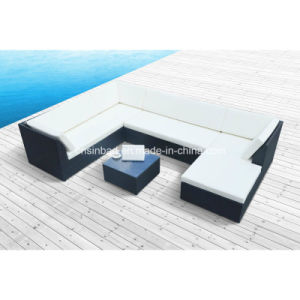 Outdoor Rattan Sofa for Garden / Living Room with Aluminum / SGS (1004-1) pictures & photos