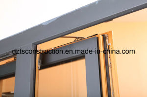 Aluminium Double Glazing Tilt-Sliding Door pictures & photos