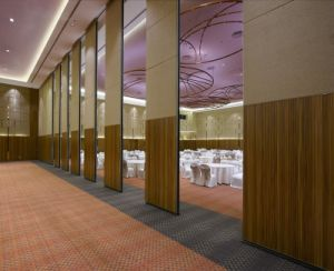 China Manufacturer Aluminium Hotel Operable Partition Wall