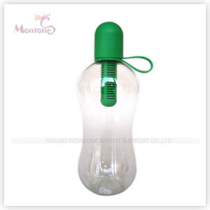 550ml Sport Transparent Water Bottle with Filter pictures & photos
