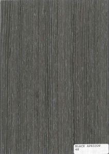 Black Apricot Veneer Plywood/Veneer MDF -48