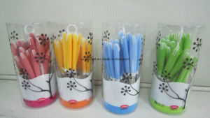 Plastic Handle Cutlery Set pictures & photos