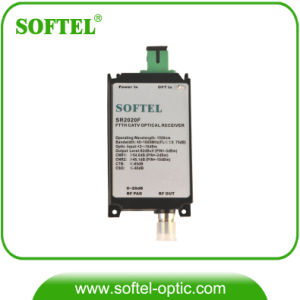 FTTH Indoor Optical Receiver Mini Node with Build-in Wdm 2020W pictures & photos