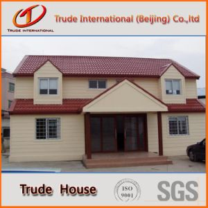 Customized Fast Installation Modular Building/Mobile/Prefab/Prefabricated Two Floor Family Living House pictures & photos