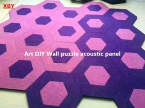 DIY Wall Puzzle Board Wall Panel Ceiling Panel Decoration Panel Acoustic Panel Hoheycomb Panel Exterior Panels Internal Panel Wall Board pictures & photos