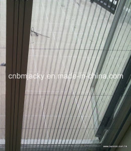 Mosquito Polyester Plisse Insect Screen/Retractable/Pleated Wire Mesh/Folding Net Window pictures & photos