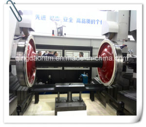 North China High Quality Floor Type CNC Lathe for Turning Train Wheel Set (CG61160) pictures & photos