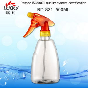 Clear 500ml Trigger Spray Bottle Rd-821 pictures & photos
