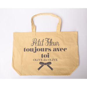 Logo Printed Cheap Cotton Net Shopping Bags pictures & photos