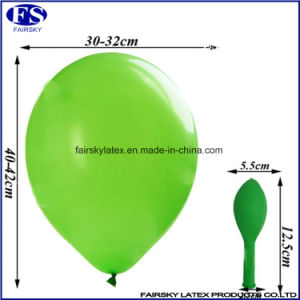"12"" Plain Color Standard Round Balloon, Inflatable Helium Latex Balloon pictures & photos"