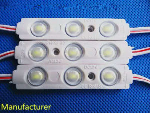 5730SMD 3 LEDs Waterproof 1.2W LED Module with Optical Lens of UL pictures & photos