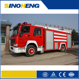 Sinotruk 6X4 Fire Water Tank Fighting Truck pictures & photos